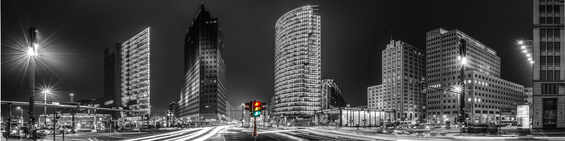 Berlin Potsdamer Platz Colourkey Panorama EGH